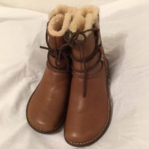 UGG Brand New winter lace up boots never worn